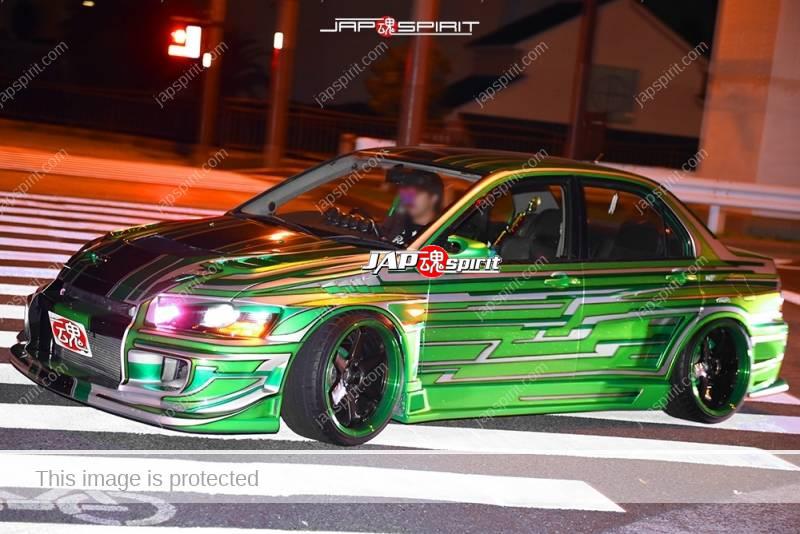 Stancenation 2016 Mitsubishi LANCER Evolution CT9A beautiful metallic pattern top paint hellaflush 1