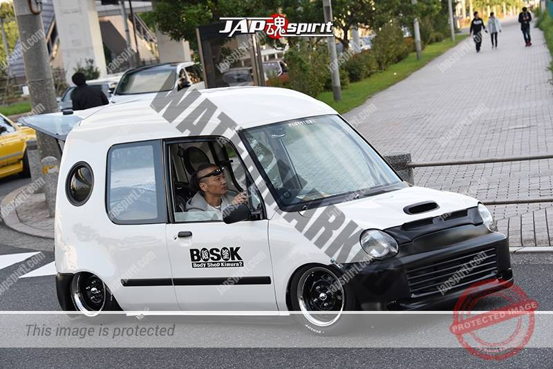 Photo of Stancenation 2016 Mitsubishi Minica toppo hellaflush white body by body shop kimura