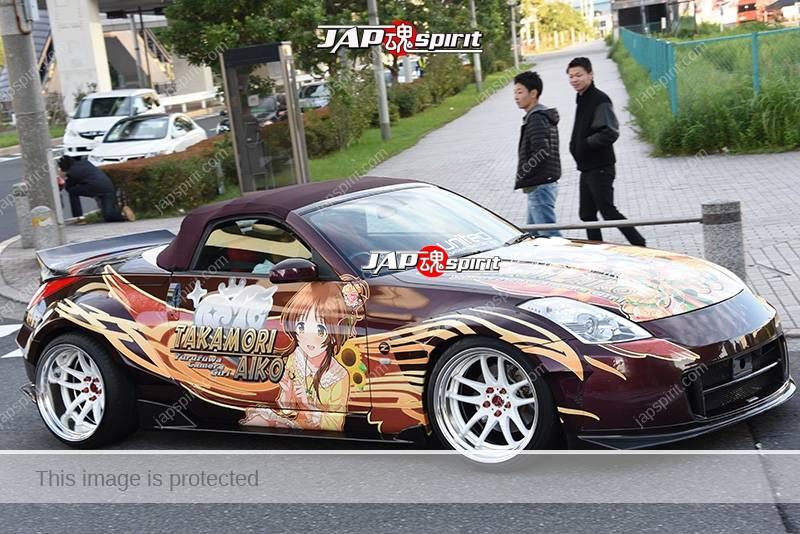 Photo of Stancenation 2016 Nissan Fairlady Z33 convertible hellaflush itasha team united