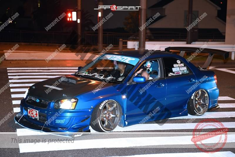 Stancenation 2016 Subaru IMPREZA 2nd spocom hellaflush style blue at odaiba 1