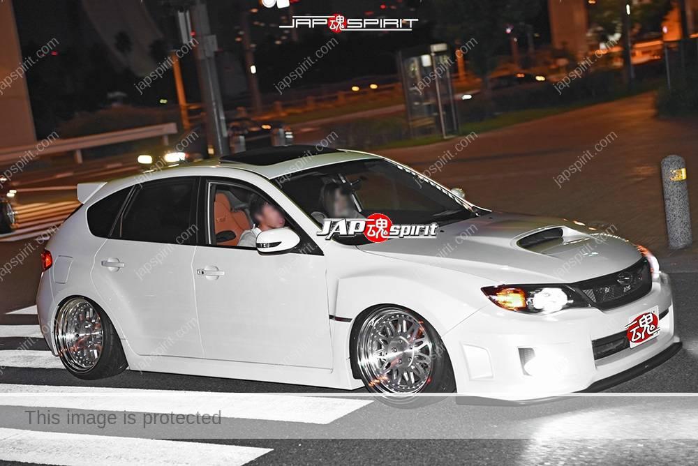 Stancenation 2016 Subaru  Impreza 2.0R  hachback white hellaflush white tsuraichi 1