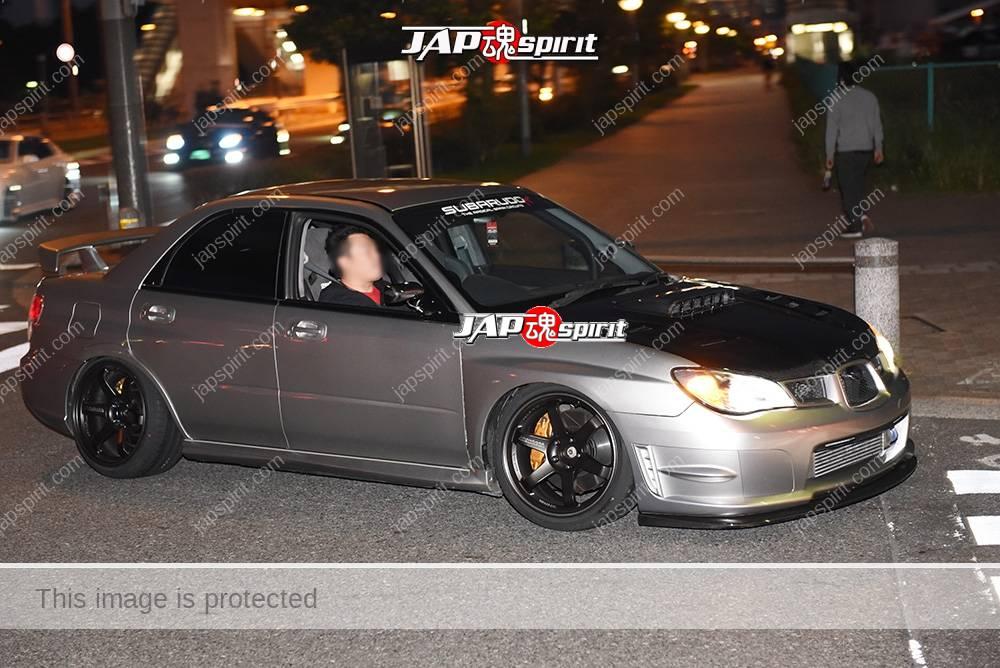 Stancenation 2016 Subaru Impreza 2nd WRX STI specC type RA-R hellaflush Gunmetal body 1