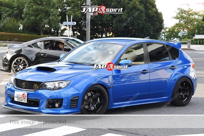 Photo of Stancenation 2016 Subaru Impreza 3rd 5door blue body at odaiba