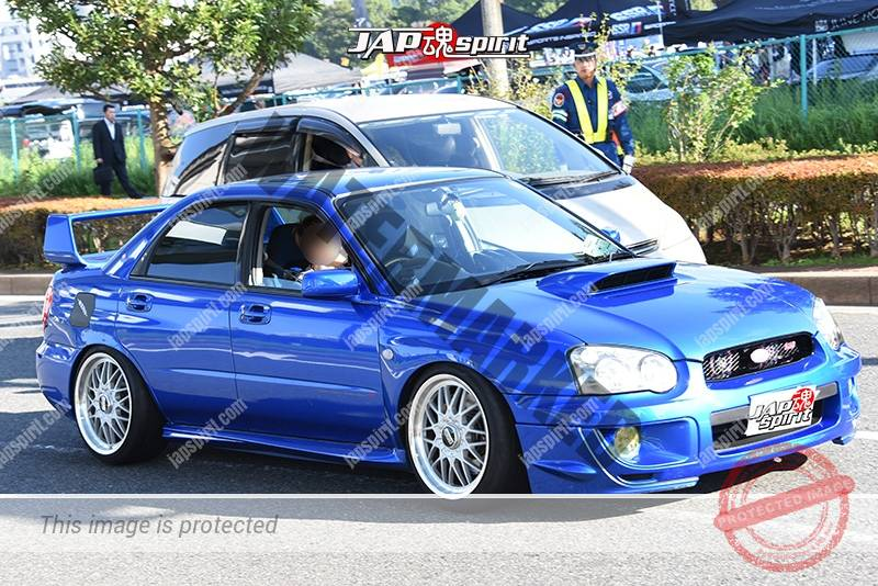 Photo of Stancenation 2016 Subaru Impreza GDP namidame hellaflush blue body at odaiba