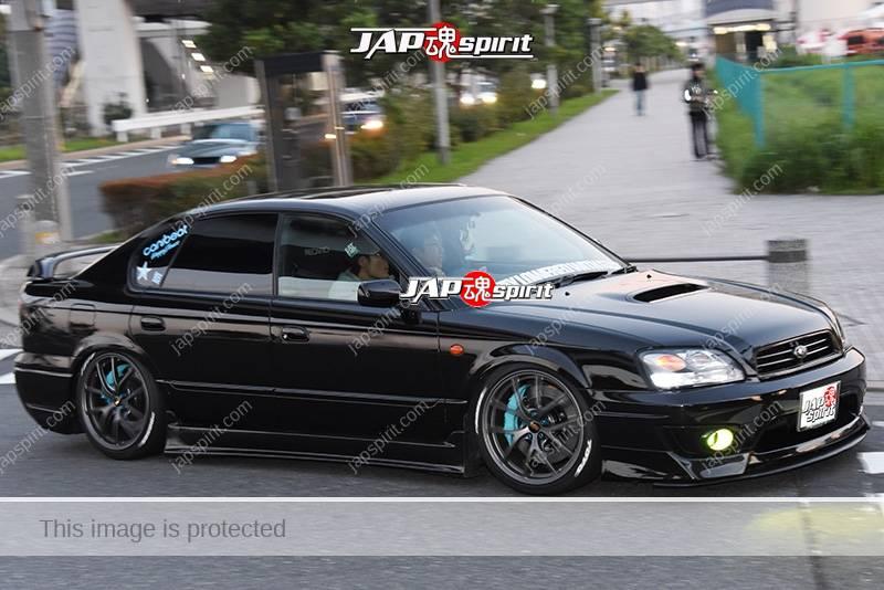 stancenation 2016 subaru legacy 3rd sedan hellaflush black body wheel at odaiba jap spirit. Black Bedroom Furniture Sets. Home Design Ideas