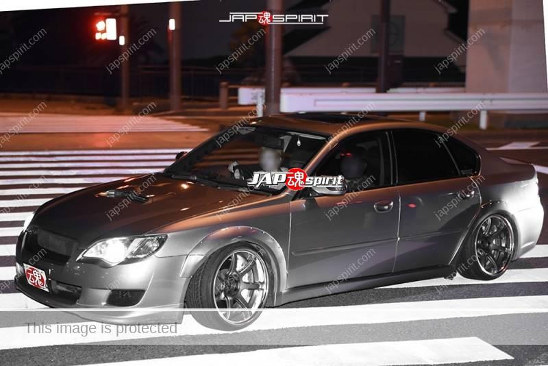 Photo of Stancenation 2016 Subaru Legacy sedan BL/BP hellaflush silver at odaiba