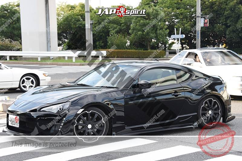 Photo of Stancenation 2016 Toyota GT86 hellalfush black body & wheel at odaiba
