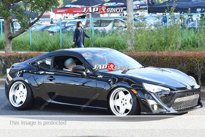 Photo of Stancenation 2016 Toyota GT86 hellaflush black body at odaiba