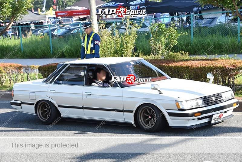 Photo of Stancenation 2016 Toyota Mark II 71 hellaflush shakotan style white body at odaiba