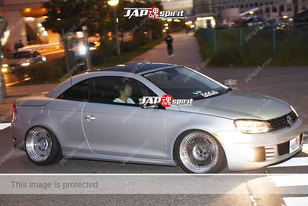 Photo of Stancenation 2016 VW EOS hellaflush silver body at odaiba