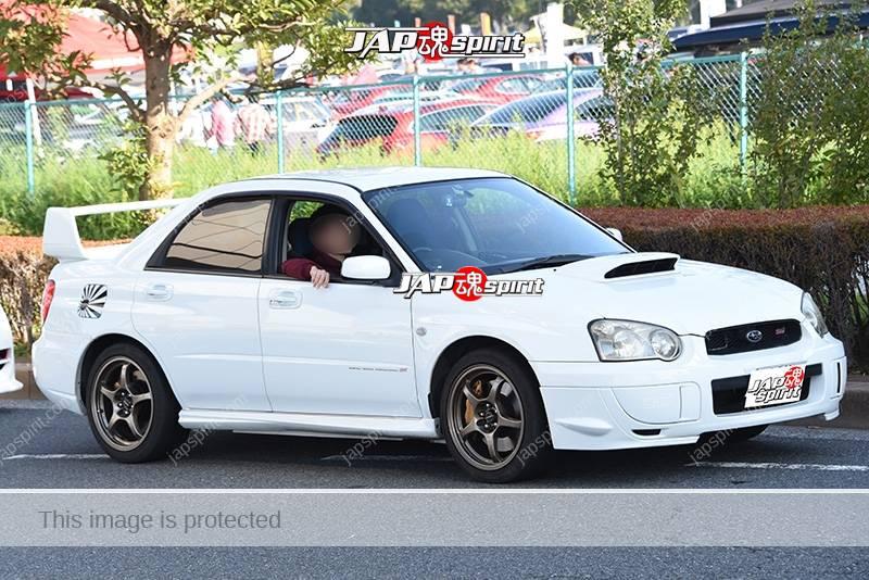 Photo of Stancenstion 2016 Subaru Impreza 2nd GDB namidame white body at odaiba