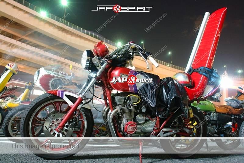 Photo of YAMAHA XJ400 Kyushakai with black jacket. please take it off sir