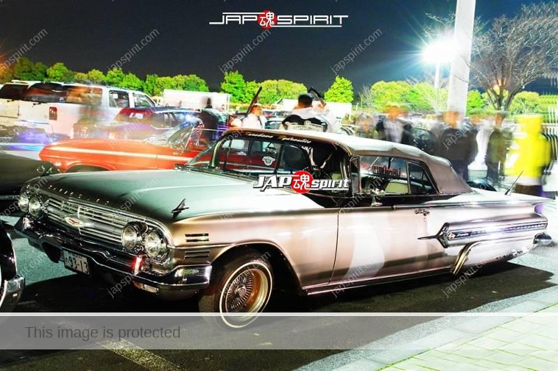 Photo of CHEVROLET Impala convertible 3rd lowrider style silver at Moriya PA