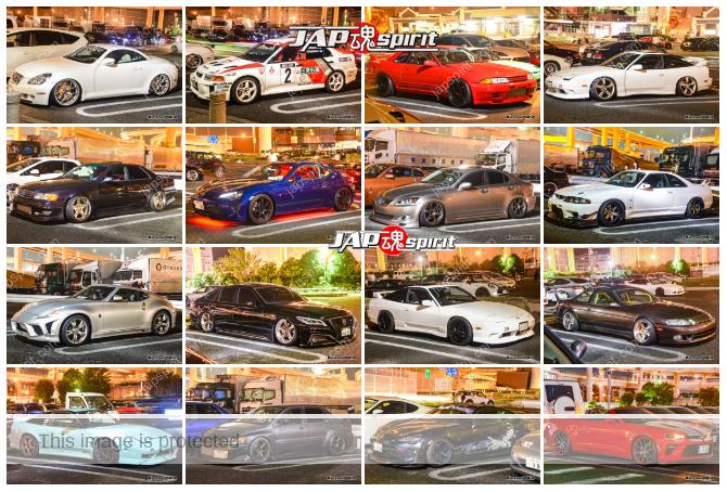 Daikoku PA Cool car report 2019/08/23 #DaikokuPA #DaikokuParking #JDM #大黒PA レポート 16