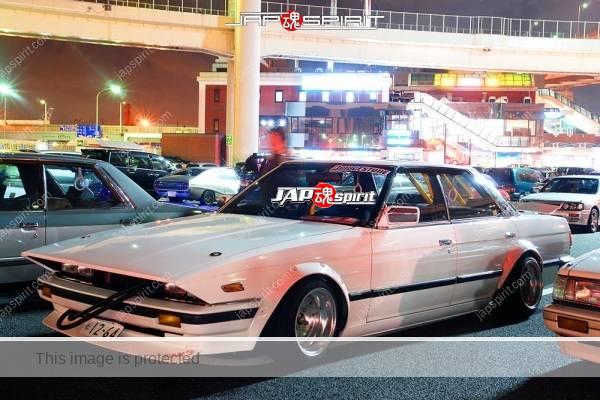 TOYOTA Cresta 1st 50/60, Zokusha style, long nose, ovrt fender white color (2)
