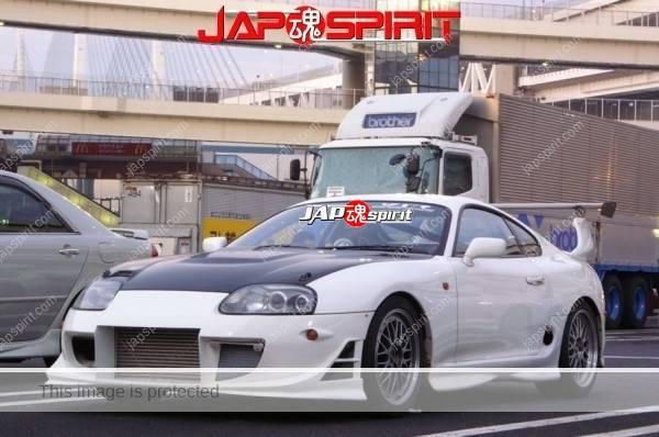 Hashiriya style TOYOTA Supra Mark 4th A80, GT wing, white color (3)