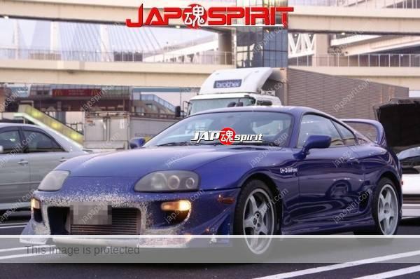 Hashiriya style TOYOTA Supra Mark 4th A80, GT wing, white color (2)