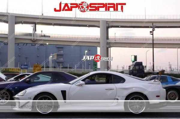 Hashiriya style TOYOTA Supra Mark 4th A80, GT wing, white color (6)