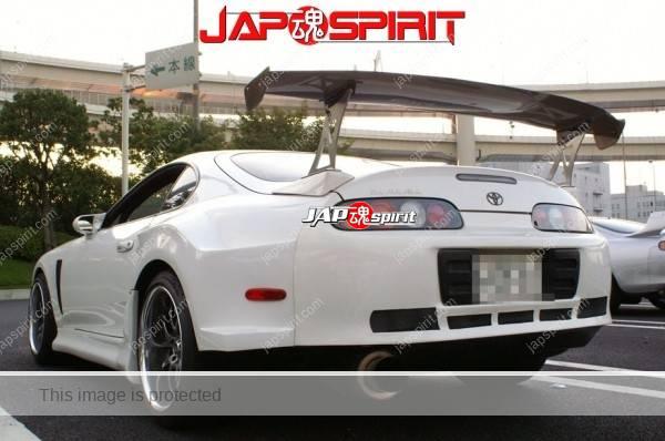 Hashiriya style TOYOTA Supra Mark 4th A80, GT wing, white color (9)