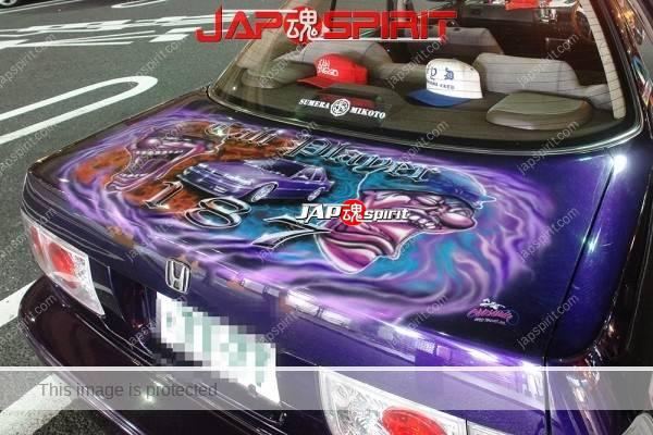 HONDA Accord CB Lowrider style, Hydraulics, Air brush paint, (6)