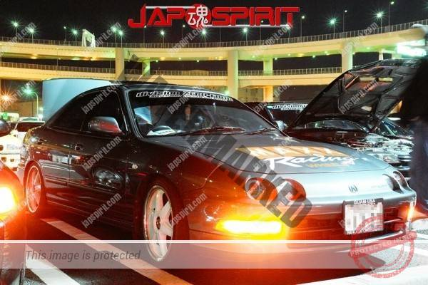 Honda Integra Spokon style, white wheel, gray color (1)