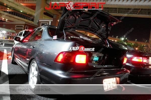 Honda Integra Spokon style, white wheel, gray color (2)