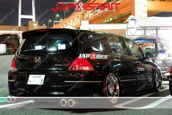 HONDA Odyssey, Dress up style, chrome plating wheel, Black color, chrome (1)