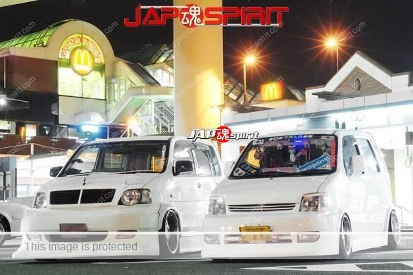 Photo of HONDA S-MX & SUZUKI Wagon R, K class car's dress up style