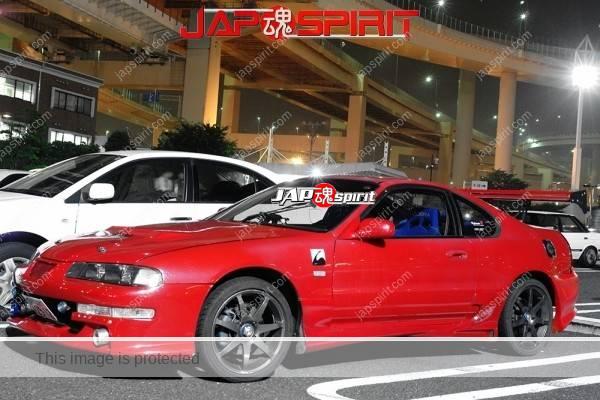 HONDA Prelude BB, Hashiriya style, GT-wing, red color (1)