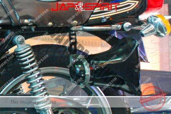 SUZUKI GS400, Zokusha style, Loud speaker, Shibori handle, Short sandan sheet, Mongolian hood. (2)
