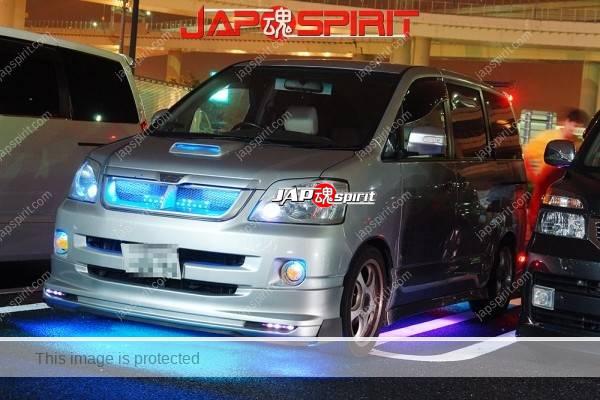 Photo of TOYOTA Noah, Dress up style, blue lighting at Daikoku parking