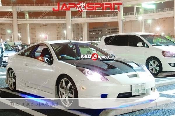 TOYOTA Celica 7th T230, ZZT, White color spokon style with lighting (1)
