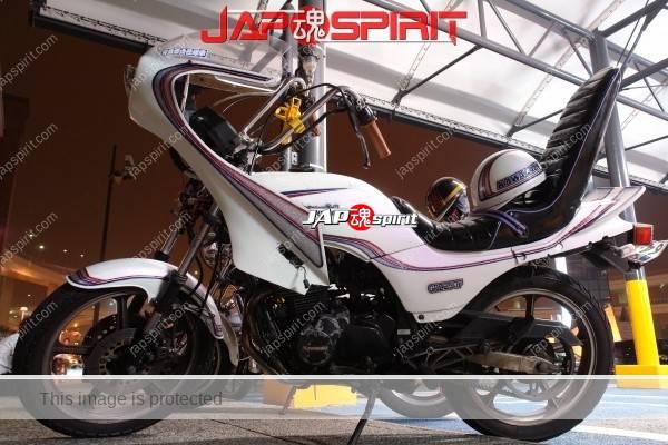 Photo of Kawasaki GPZ250F Zokusha Style, Rocket Cowl & Sandan sheet
