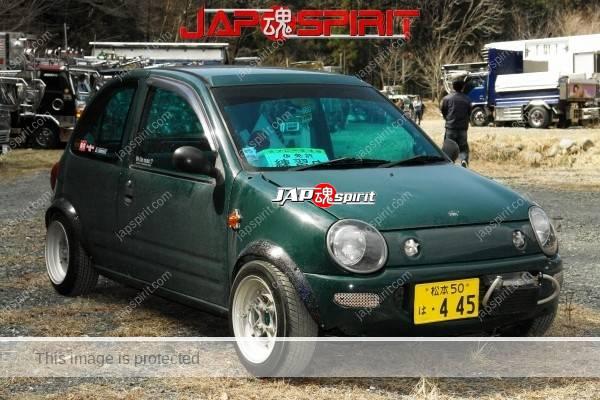 MAZDA CAROL, Zokusha style, Shakotan K car, not so aggressive custom (1)