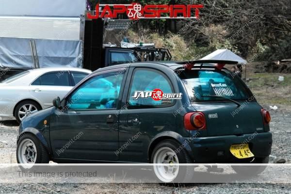 MAZDA CAROL, Zokusha style, Shakotan K car, not so aggressive custom (2)