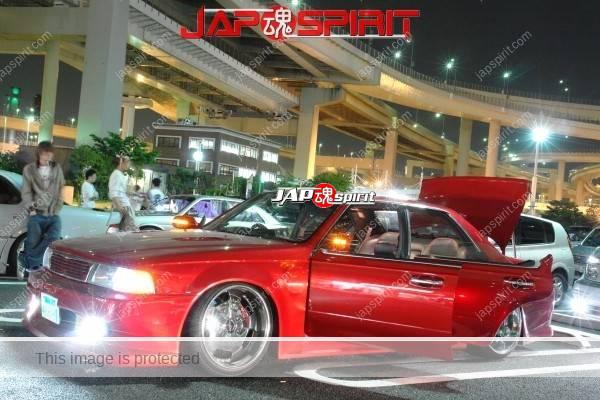 NISSAN C34 Laurel, Red color, crome wheel, shakotan (3)