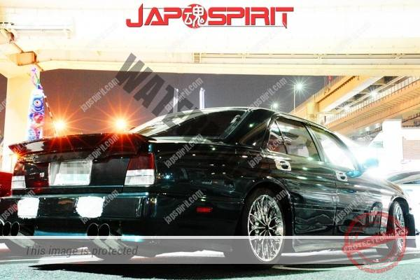 NISSAN CIMA FY32, VIP style, sexy dandy muffler & rear spoiler (1)