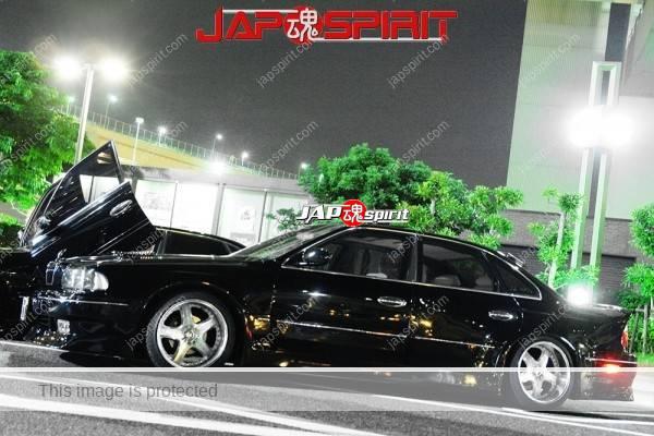 NISSAN INFINITI Q45 VIP style, Scissor door, dandy black color (4)