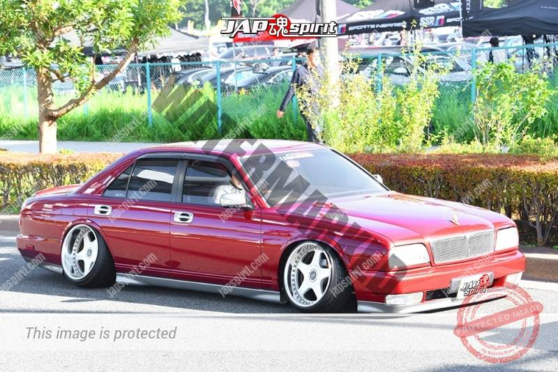 Photo of Stancenation 2016 Nissan Cima FY32 VIP hellaflusy tsuraichi camber red body