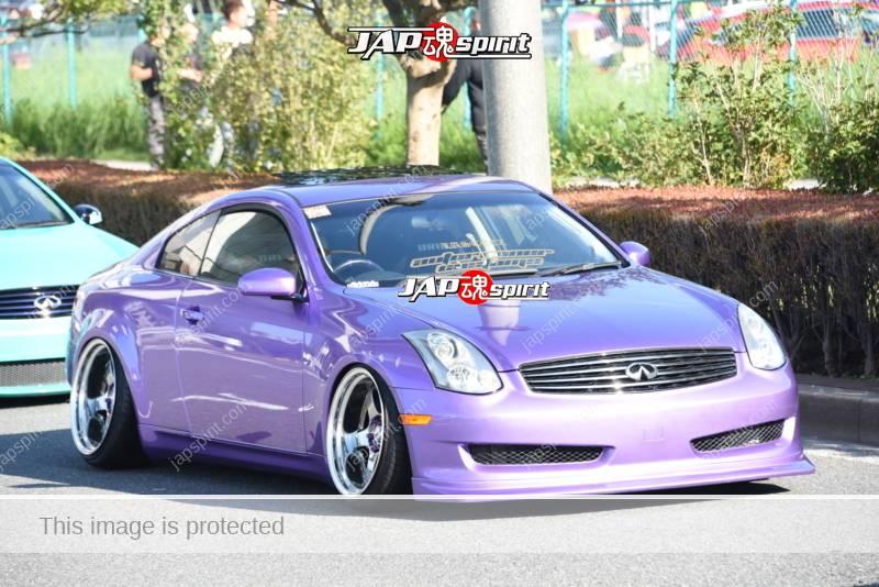 Stancenation 2016 Nissan Infiniti G35 autorunner costoms purple bodyG35Hellaflush Stancenation