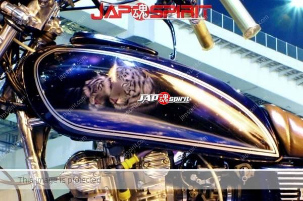SUZUKI GS400, Zokusha style, Sandan sheet & tiger air bruch paint (1)