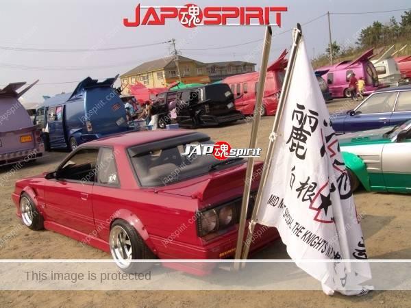 Takeyari muffler & Shakotan Zokusha style by Nissan skyline R31 (2)