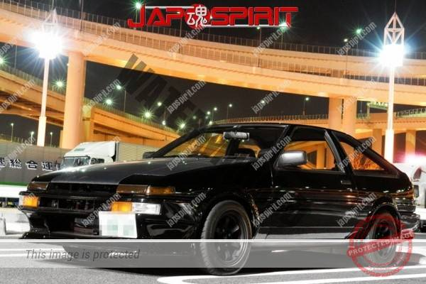 TOYOTA, AE86 (Levin/Trueno), Hashiriya style, Black color (1)