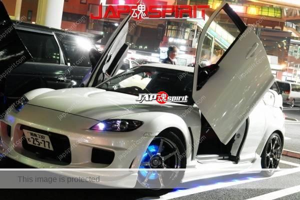 TOYOTA Celica yellow & LED lighting, Spokon style Scissor door, & MAZDA RX8 & Honda Odyssay (2)