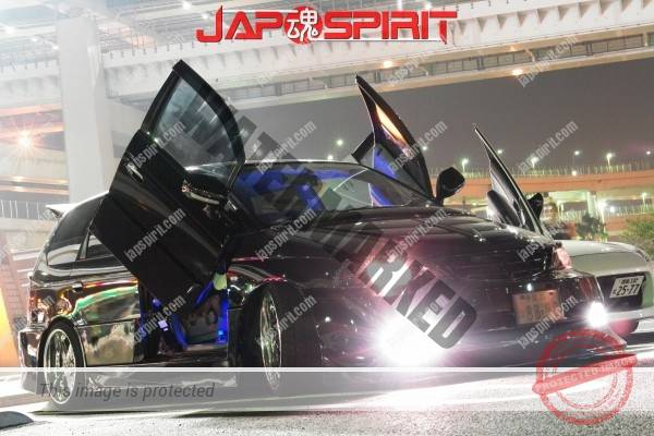TOYOTA Celica yellow & LED lighting, Spokon style Scissor door, & MAZDA RX8 & Honda Odyssay (3)