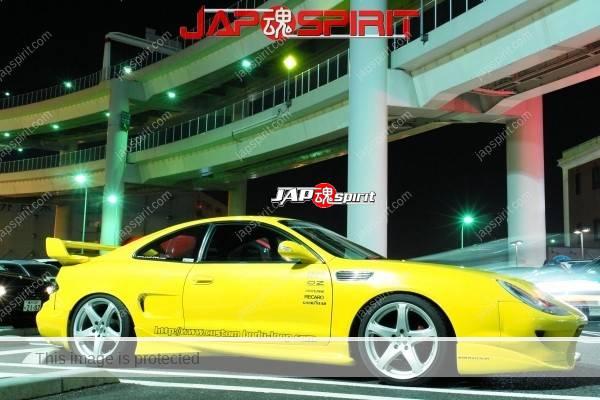 TOYOTA Celica yellow & LED lighting, Spokon style Scissor door, & MAZDA RX8 & Honda Odyssay (5)