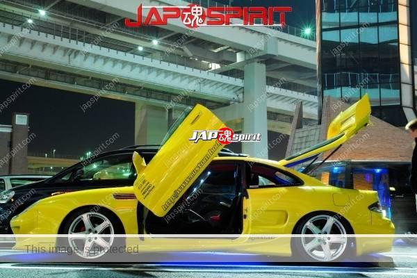 TOYOTA Celica yellow & LED lighting, Spokon style Scissor door, & MAZDA RX8 & Honda Odyssay (6)