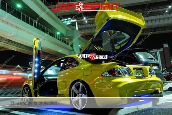 TOYOTA Celica yellow & LED lighting, Spokon style Scissor door, & MAZDA RX8 & Honda Odyssay (7)