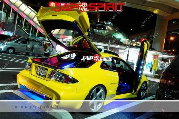 TOYOTA Celica yellow & LED lighting, Spokon style Scissor door, & MAZDA RX8 & Honda Odyssay (9)