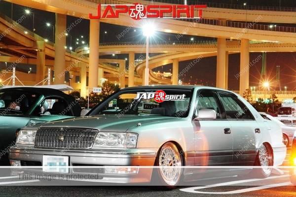 TOYOTA Crown S15, VIP style, Shakotan, wire wheel, mild custom (1)